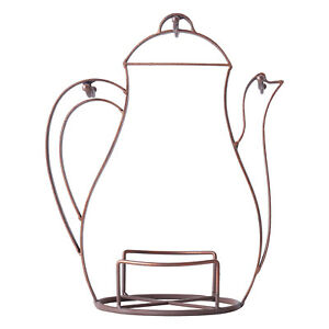 Metal Rack Mug Dishes Cup Holder Tree Stand Coffee Tea Storage 3 Hooks F9D0