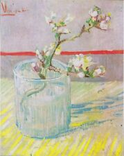 Vincent Van Gogh Blossoming Almond Branches Canvas Art Print Fine Art Decor 8x10