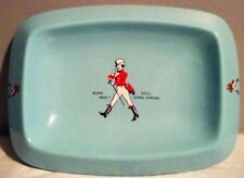 1950s Johnnie Walker Blue Tip Tray Wade Regicor England