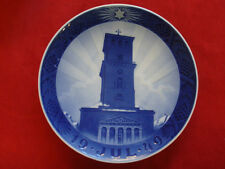 "1949 Royal Copenhagen Rc Christmas Plate "" Church Of Our Lady """
