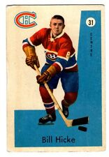 1X BILL HICKE 1959-1960 Parkhurst #31 EXNM 59-60 Montreal Canadiens