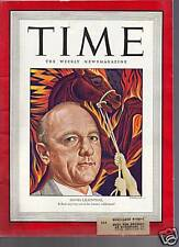 Time Magazine David Lilienthal August 4, 1947