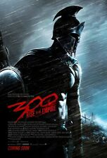 300 RISE OF AN EMPIRE (2014) ORIGINAL Advance DOUBLE SIDED MOVIE FILM POSTER