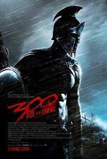 300 Rise of an Empire (2014) ORIGINAL ADVANCE Doble Cara Película Póster