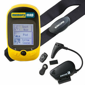Memory Map 270 Bike Cyclist Running GPS Tracker + Heart Rate Monitor + Cadence