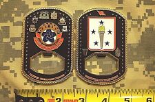 Challenge Coin US Army Combined Arms Support Command LARGE Support Starts Here