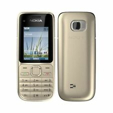 New condition Nokia C2-01 3G Unlocked Camera Mobile Phone Hebrew Keyboard Isreal