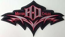"Harley Davidson ""Laser Cut"" Embroidered Patch"
