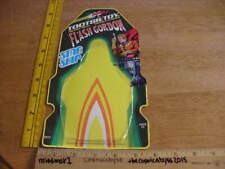 1978 Flash Gordon Tootsietoy star ship backer card only