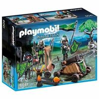 Playmobil 6041 Wolf Knights with Catapult Construction Toy Set