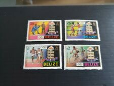 BELIZE 1984 SG 784-787 OLYMPIC GAMES  MNH