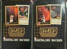 90-91 SkyBox Series 1 NBA Sealed Box 36 Foil Packs Case Fresh Jordan 1st Season