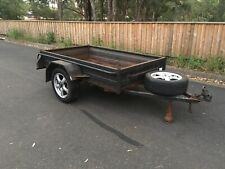 box trailer 7x4 Unregistered Towing Farm Moving