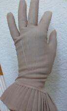 Wow Van Raalte Beige Statement Gloves Never Worn 1930-40`s Rayon 7