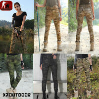 Women Outdoor Airsoft Military Urban Tactical Combat Pants Forces Trousers Cargo