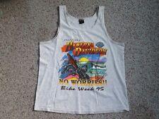 VINTAGE HARLEY DAVIDSON DAYTONA BEACH BIKE WEEK TANK SHIRT 1995 LARGE