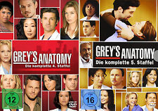 Grey's Anatomy - Die komplette 4. + 5. Staffel (Greys)               | DVD | 273