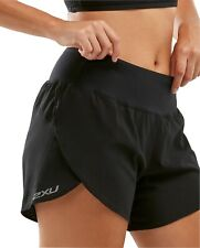 2XU X Vent 4 Inch (With Brief) Womens Running Shorts - Black