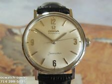 1960 Vintage OMEGA Seamaster Automatic, Stunning Silver Dial, Serviced