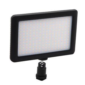 12W 192 LED Studio Video Continuous Light Lamp For Camera DV Camcorder Black Z1Q