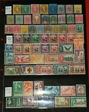 {BRITISH SARAWAK< 65 Early MNH/MINT Varieties<F-VF HCV Bargain!> /epictronic/JC}