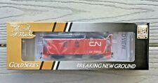 TRUE LINE TRAINS 1/87 HO CNR CANADIAN NATIONAL #79003 WOOD TRANSFER CABOOSE F/S