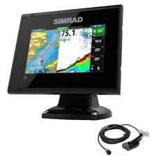 Simrad GO5 XSE Chatplotter Fishfinder with GPS and Transducer 000-12452-001