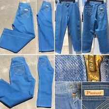 Vintage Pizzazz New York Paris Jeans High Waist 70s 31� Waist Talon 42 Zipper