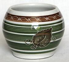 Vintage Dragon Pottery/Dee Cee Sugar Bowl
