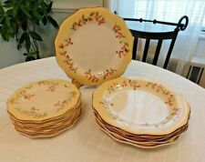Tuscan Retreat 5 dinner plates 5 salad plates Better Homes and Gardens