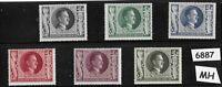 #6887   MH Stamp 1943 stamp set / Hitler Birthday / WWII Germany  / Third Reich