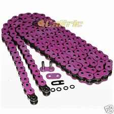 525 x 120 Links Motorcycle ATV PINK O-Ring Drive Chain 525-Pitch 120-Links