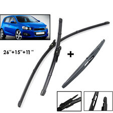 Windscreen Wiper Blades Fit For Holden Barina 2011-2017 Front Rear Window