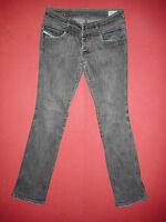 Diesel ROKKET 008DK - W29 L32 - Stretch Ladies/Womens Grey Denim Jeans - K733