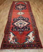 Persian Traditional Vintage Wool 375cmX120cm Oriental Rug Handmade Carpet Rugs