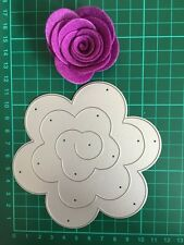 D038 Quilling Roll Up Flower Cutting Die For Sizzix Spellbinders ect. Machine