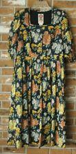 Vintage Austria Drindl Dress 100% Cotton