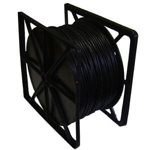 Cat5e Stranded UTP PVC Network LAN Cable 305m 305 metres Black PURE COPPER