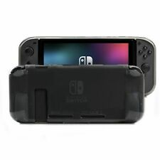 Nintendo Switch Clear Protective Screen Comfort Grip Case Shockproof Protector