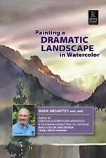 Watercolor - Painting a Dramatic Landscape in Watercolor by Mark Mehaffey - DVD
