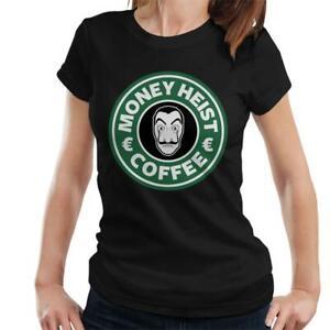Money Heist Casa De Papel Coffee Logo Women's T-Shirt