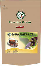 Banana Flower Tea, rare Herbal Tea, plante entière, perte de poids, 40 sachets de thé 80 g