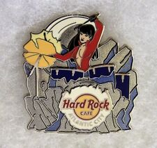 HARD ROCK CAFE ATLANTIC CITY SEXY GIRL PLAYING FROZEN DRUMS PIN # 72418