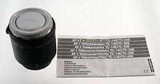 Nikon tc-20eii 20e II teleconverter AF-S tele convertidor extender Mint como nuevo