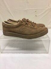 Tretorn Brown Leather Casual Shoes Mens Sz 8 M - Fashion Sneakers