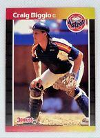 1989 Donruss Craig Biggio #561 Rookie Card RC Houston Astros HOF