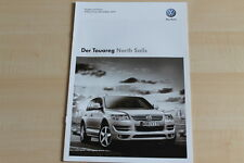 76942) VW Touareg North Sails - Technik & Preise & Extras - Prospekt 05/2009