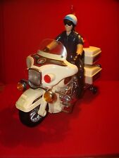 JOUET ANCIEN MOTARD POLICE MADE IN TAIWAN