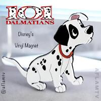 101 Dalmatians Patch Vinyl Magnet by Applause Disney Rare Vintage