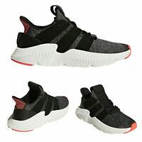 Adidas Men's Sz 10 Prophere Black Solar Red Sneakers CQ3022 New Without Box